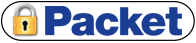 Falmouth Packet: Packet Secure logo