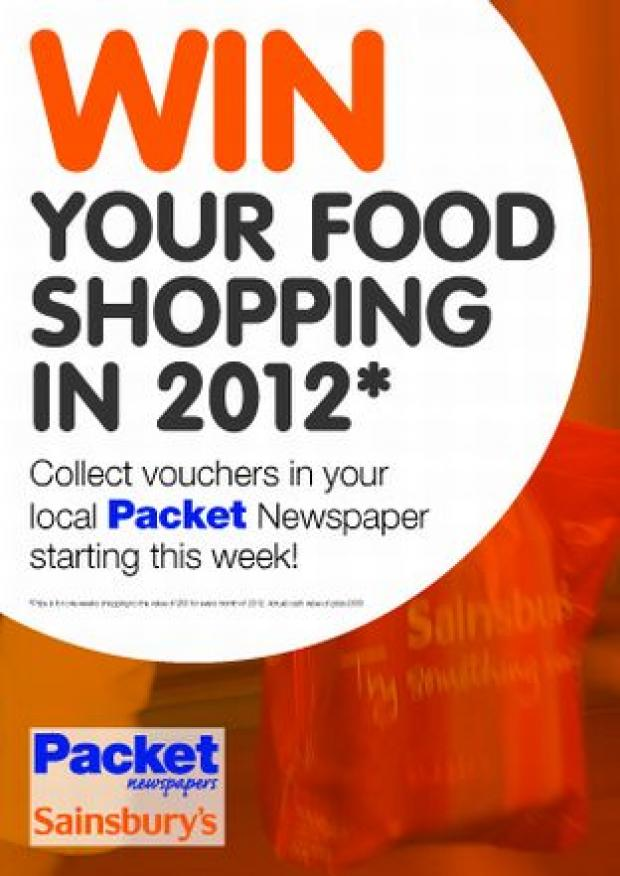 Last chance to win Sainsbury's shop for 2012