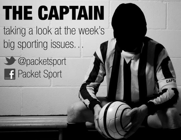 The Captain: 'Let's celebrate the Anti-Sports Personality of the Year'
