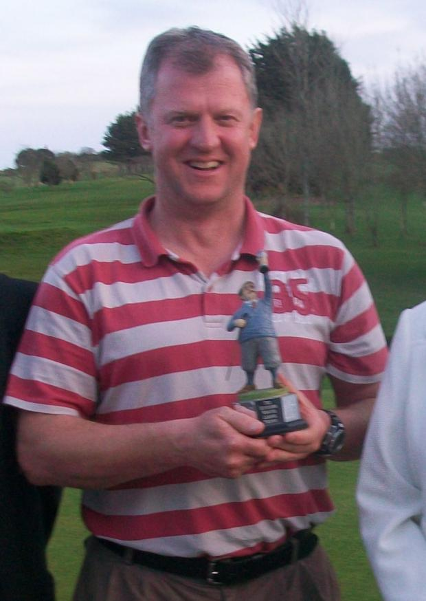 Winner of the Ted Hitchens' Winter League winner David Holland