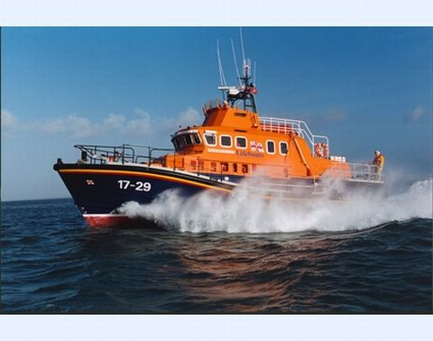Lone French yachtsman towed to safety by Falmouth RNLI