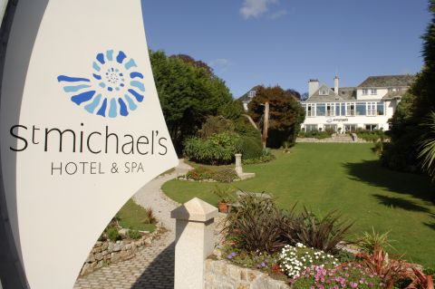 Wooden ladle to blame for fire in sauna at St Michael's Hotel this morning