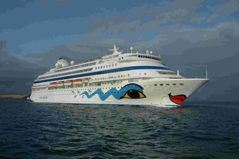 Cruise ship makes impressive Falmouth return