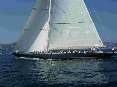 Giant sailing yachts return to Falmouth