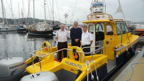 Falmouth boat user fined £500 for no lights at night
