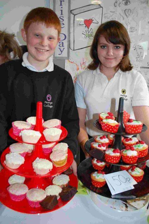 Penryn College fundraising is icing on the cake