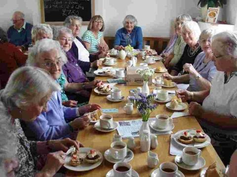 Mullion WI says farewell to stalwart member