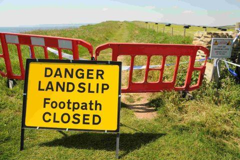 Storm hit coast paths in Cornwall to share £1 million repair fund