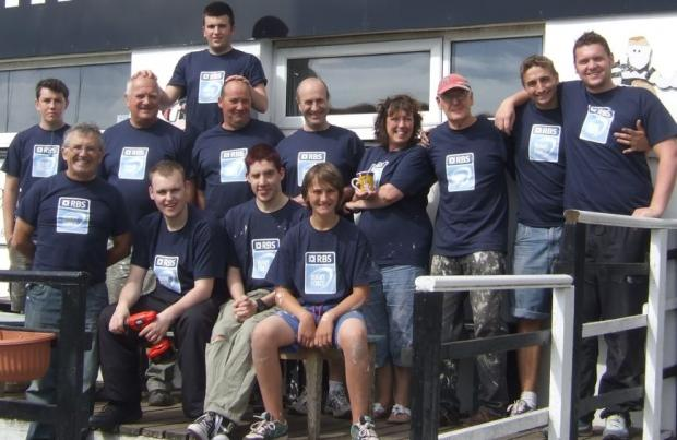 The volunteers at Falmouth RFC