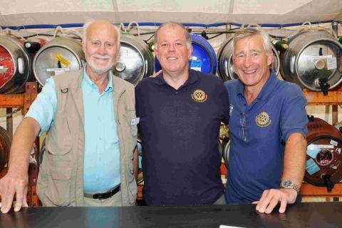 Lizard and Helston Rotary Club holds first charity beer festival
