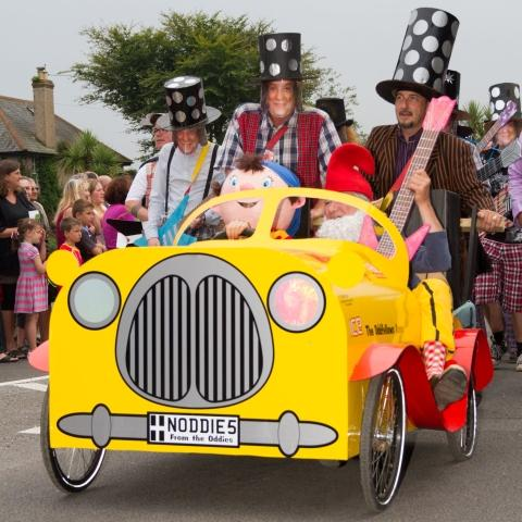 Fantastic costumes on show for Falmouth Carnival