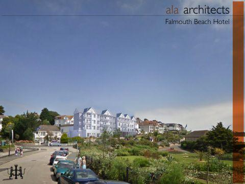 New Falmouth Beach Hotel design revealed
