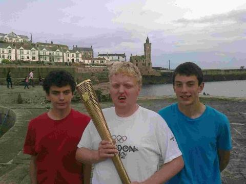 Porthleven trio's Olympic fundraising effort