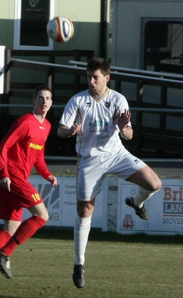 Truro City captain Jake Ash who says he hopes administration can help the club move forward