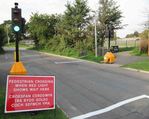 Should there be a pedestrian crossing for roundabout near Asda Penryn?