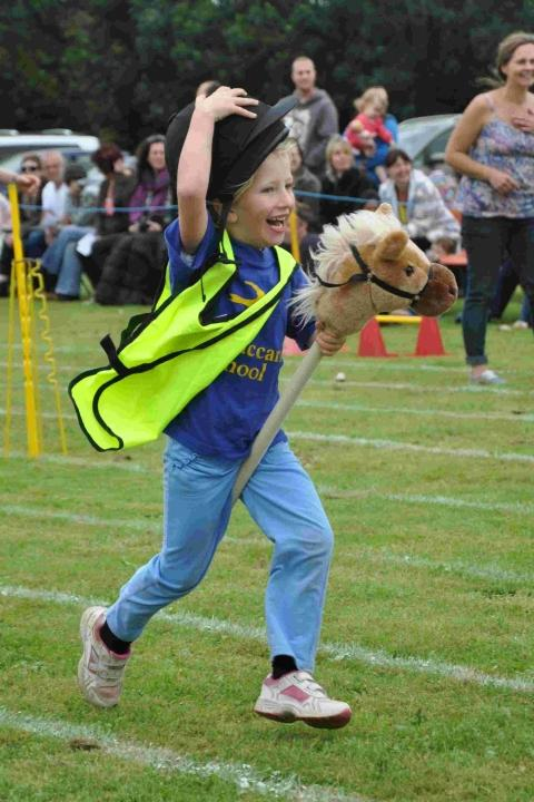 Third time lucky for Lizard area school sports day