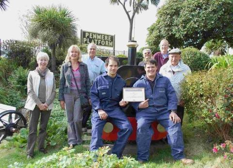 Friends of Penmere Station honoured
