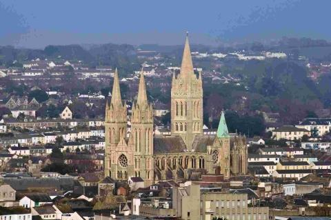 Truro Cathedral to share pot of WWI repairs cash