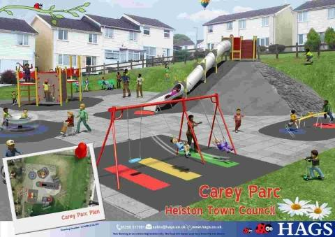 New 38,000 play park to officially open in Helston tomorrow