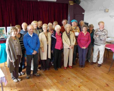 Coverack Art Club marks 40th year