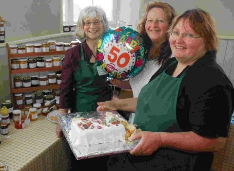 Stallholders recently celebrated 50 years at the same venue
