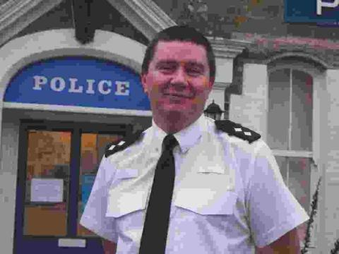 Helston welcomes back police inspector