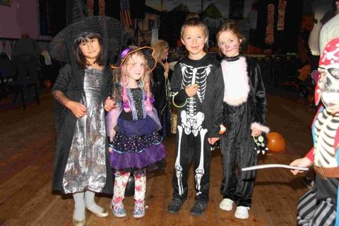 Perfect Porthleven Hallowe'en party: PICTURES
