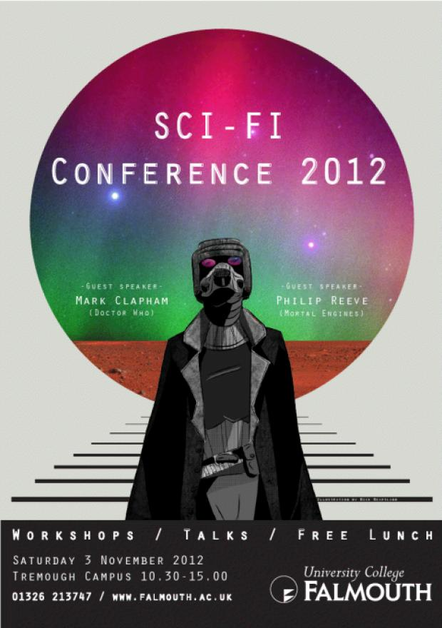 Free sci-fi conference to descend on Tremough Campus tomorrow