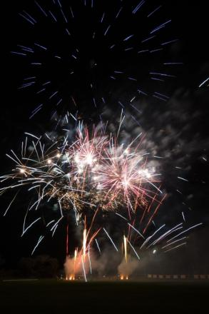 Falmouth's Fireworks Night sparkles