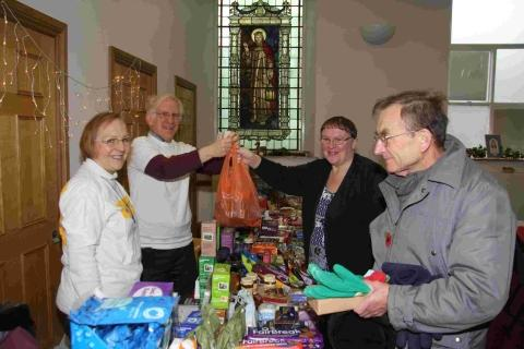 Helston church hosts festive fair trade fair