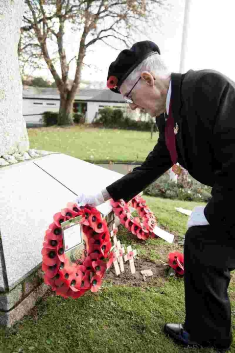 Penryn Remembrance Day: Report and Pictures