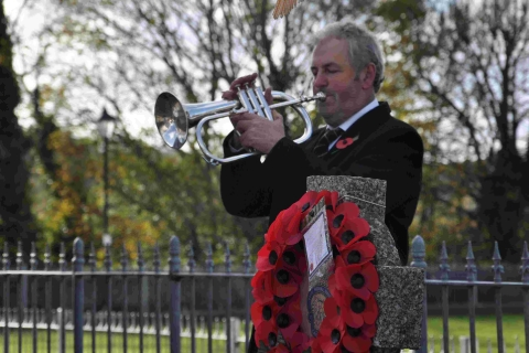 Helston and Pothleven Remembrance Day: Pictures and report