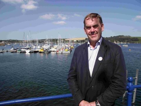 Police and crime commissioner Tony Hogg