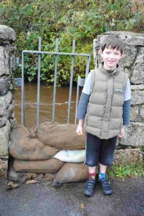 Helston just moments from flood disaster: Full report and gallery