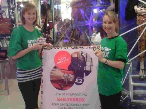 ShelterBox links up with fashion chain