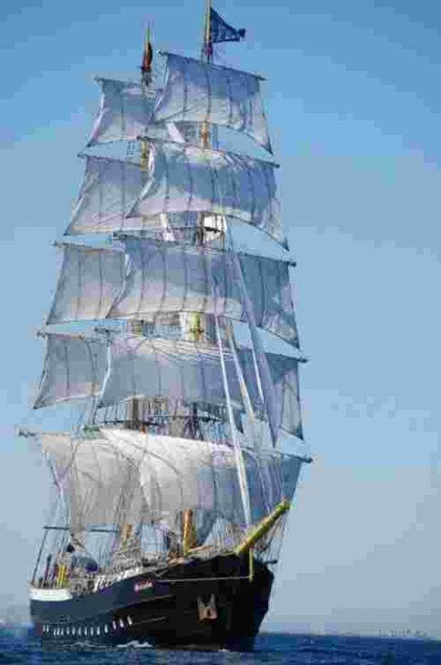 Dutch tall ship Mercedes will be returning to Falmouth in the spring
