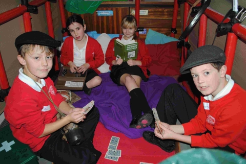 Marlborough pupils get taste of history