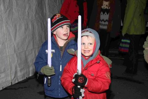Falmouth Packet: Coverack lights up for Christmas