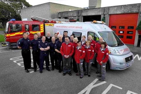 Red Cross call for Falmouth and Helston volunteers to help fire victims