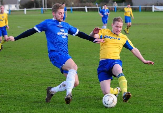 Helston ran riot at home against Vospers Oak Villa on Saturday