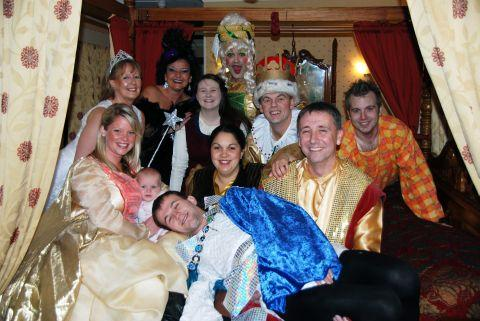 The cast of Sleeping Beauty will appear on stage in Penzance