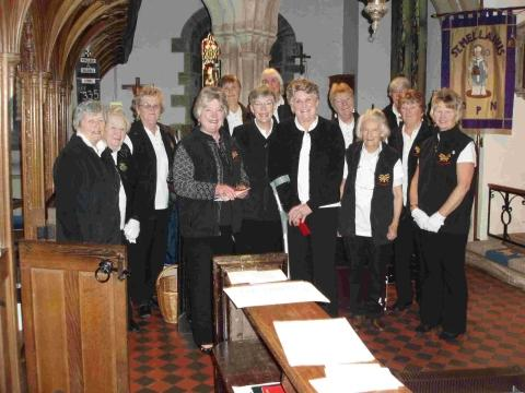 Mullion Handbell Ringers raise church funds