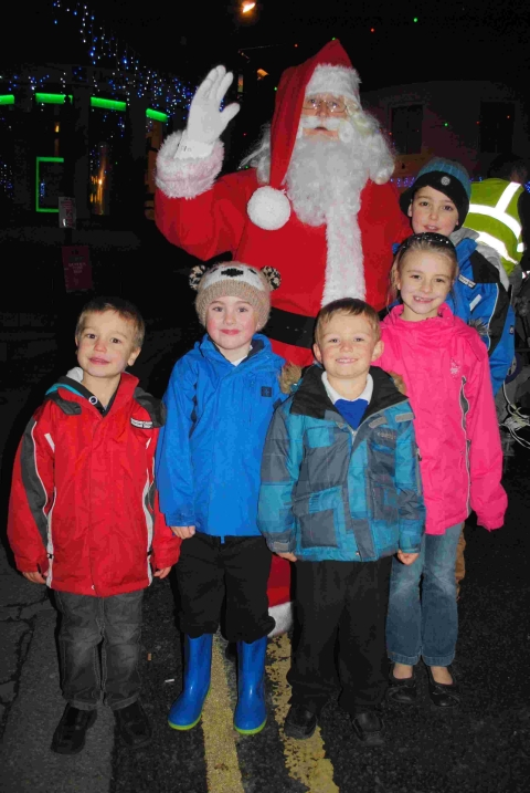 Santa comes to Helston for first Christmas fair