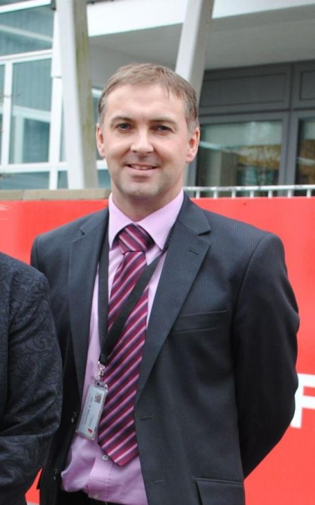 Current deputy head Brett Miners, who will become headteacher next autumn term.