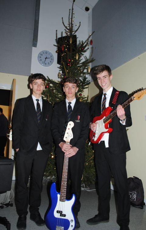 "Harry, Morgan and Ollie played ""Still Ill"" by The Smiths at the Christmas concert."