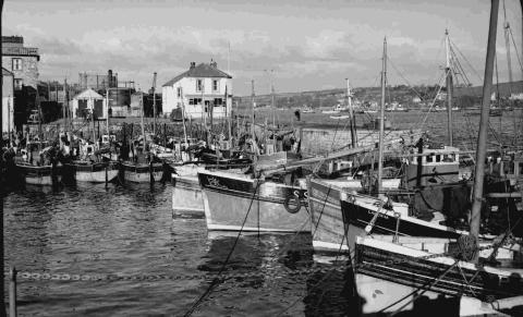 A look back at Falmouth waterfront of yesteryear proved popular with readers