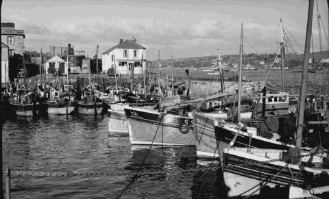 A look back at Falmouth waterfront of yesterye