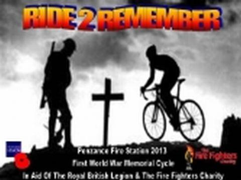 Orange Watch from Penzance are planning the commemorative cycle for September.