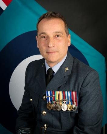 Newly elected county chairman, Squadron Leader Shaun Pascoe