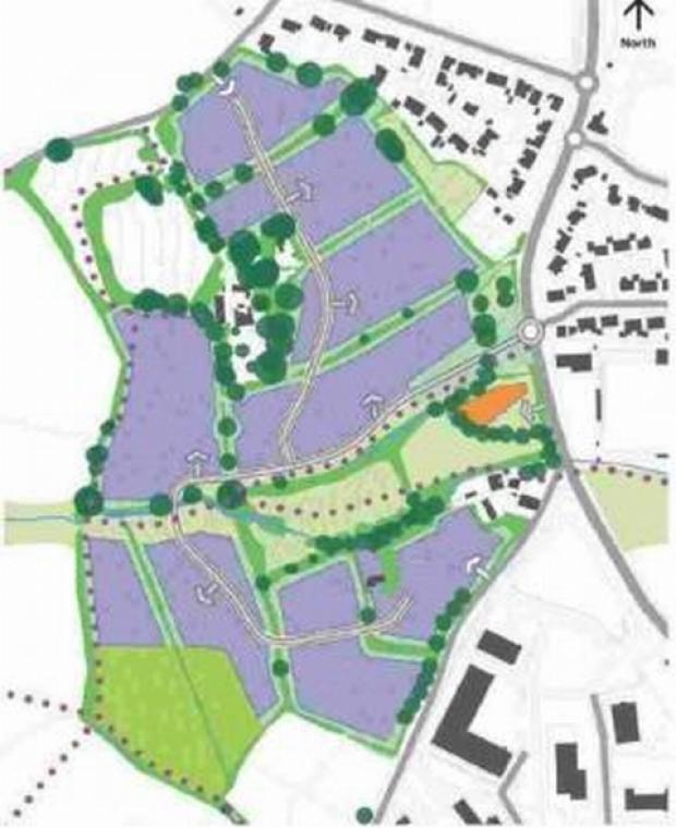 Town council to debate Bickland Hill 300 homes plan